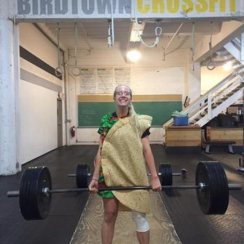 The dead lifting taco.