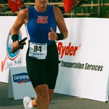 A flashback to younger faster days:) Still tri'ing though.